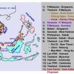 โครงการ ASEAN Power Grid 14 interconnections Electricity